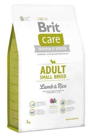 BRIT CARE Adult Small Breed Lamb & Rice - 3kg