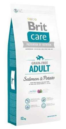 BRIT CARE Grain Free Adult Salmon & Potato - 12kg