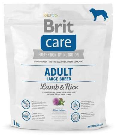 Brit Care New Adult Large Breed Lamb & Rice 1kg